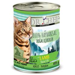 Dr.Chef - Dr. Chef Lamb Kuzu Etli Tahılsız Kedi Konservesi 415 Gr