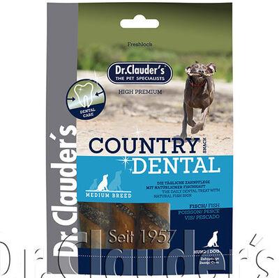 Dr. Clauders Country Dental Ağız Diş Sağlığı Balıklı Köpek Ödülü 100 Gr
