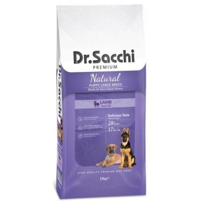 Dr.Sacchi Puppy Large Kuzu Etli Büyük Irk Yavru Köpek Maması 15 Kg