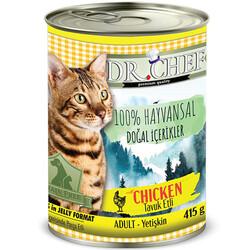 Dr.Chef - Dr.Chef Tavuk Etli Tahılsız Kedi Konservesi 415 Gr