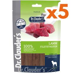 Dr.Clauders - Dr.Clauders Lamb Kuzu Etli Köpek Ödül Çubukları 80 Gr-(80 Grx5 Adet)