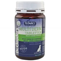 Dr.Clauders - Dr. Clauders Multi Derm Tüy ve Deri Sağlığı Köpek Tableti 185 Gr
