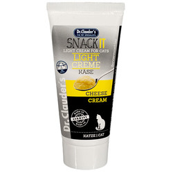 Dr.Clauders - Dr.Clauders Snack It Light Creme Kase Peynirli Kedi Macunu 35 Gr
