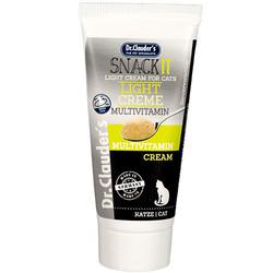 Dr.Clauders - Dr. Clauders Snack It Light Creme Multivitamin Kedi Macunu 35 Gr