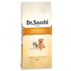 Dr.Sacchi - Dr.Sacchi Basic Tavuk Etli Köpek Maması 15 Kg