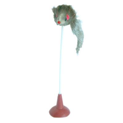 Eastland Catia 200555 Vantuzlu Plastik Saplı Peluş Kedi Oyuncağı 15 Cm