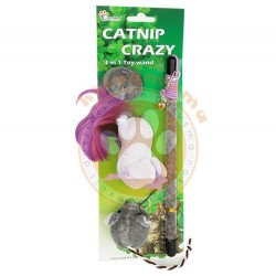 Eastland - Eastland Catnipli Kedi Oltası Seti 25 Cm ( Fare - Kuş - Top )