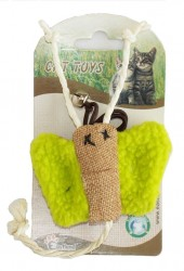 Eastland - Eastland Kelebek Figürlü Kedi Oyuncağı