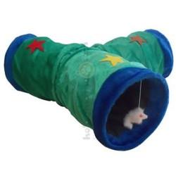 Eastland - Eastland Oyuncaklı Peluş Kedi Tüneli ve Evi