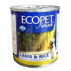EcoPet - Ecopet Natural Kuzu Etli ve Pirinçli Köpek Konservesi 300 Gr