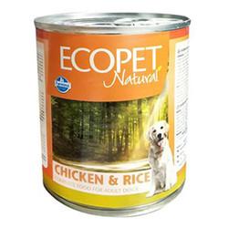 EcoPet - Ecopet Natural Tavuk ve Pirinç Köpek Konservesi 300 Gr