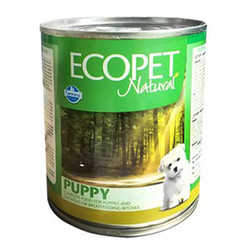 EcoPet - Ecopet Puppy Natural Tavuk Etli Soslu Yavru Köpek Konservesi 300 Gr