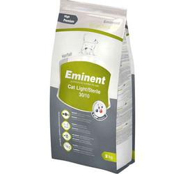 Eminent - Eminent Light/Sterile Kısırlaştırılmış Düşük Kalorili Kedi Maması 2 Kg+5 Adet Temizlik Mendili