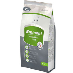 Eminent - Eminent Lamb Rice Kuzu Etli ve Pirinçli Köpek Maması 3 Kg+5 Adet Temizlik Mendili