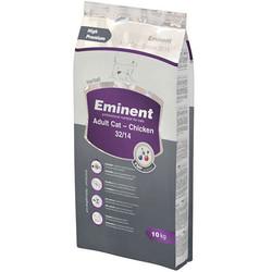 Eminent - Eminent Adult Cat Tavuklu Yetişkin Kedi Maması 10 Kg+10 Adet Temizlik Mendili