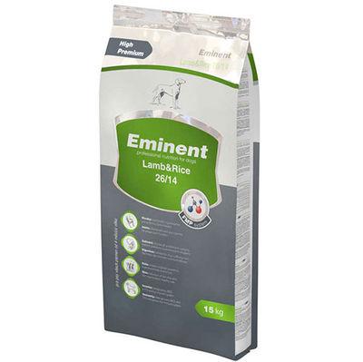 Eminent Lamb Rice Kuzu Etli ve Pirinçli Köpek Maması 15 Kg+10 Adet Temizlik Mendili
