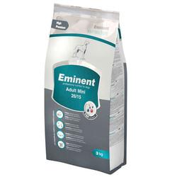 Eminent - Eminent Adult Mini Küçük Irk Yetişkin Köpek Maması 3 Kg+3 Adet Temizlik Mendili
