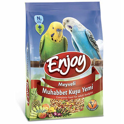 EnJoy Premium - Enjoy Meyveli Muhabbet Kuşu Yemi 400 Gr