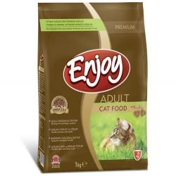 EnJoy Premium - Enjoy Tavuk Etli Yetişkin Kedi Maması 1000 Gr (1 Kg)