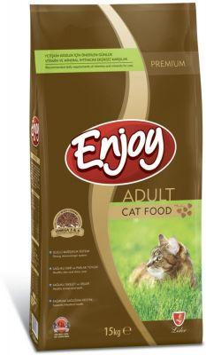 Enjoy Tavuk Etli Yetişkin Kedi Maması 15 Kg