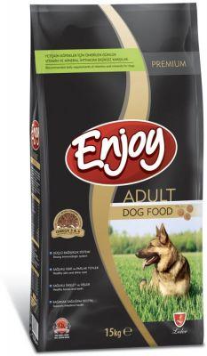 Enjoy Tavuk Etli Yetişkin Köpek Maması 15 Kg