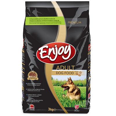 Enjoy Tavuk Etli Yetişkin Köpek Maması 3 Kg
