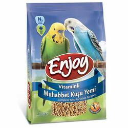 EnJoy Premium - Enjoy Vitaminli Muhabbet Kuşu Yemi 400 Gr