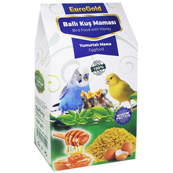 EuroGold - Euro Gold Ballı Yumurtalı Kuş Maması 100 Gr