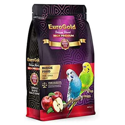 Euro Gold Deluxe Blend Premium Gerçek Elmalı Muhabbet Kuşu Yemi 1000 Gr