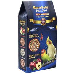 EuroGold - Euro Gold Deluxe Blend Premium Gerçek Elmalı Paraket Yemi 1000 Gr
