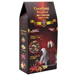 EuroGold - Euro Gold Deluxe Blend Premium Papağan Yemi 650 Gr