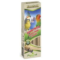 EuroGold - Euro Gold Doğal Kumlu Kuş Tünek ( 4'lü Paket )