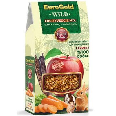 Euro Gold Fruit Veggie Mix Keçiboynuzlu Kemirgen Ödülü 120 Gr