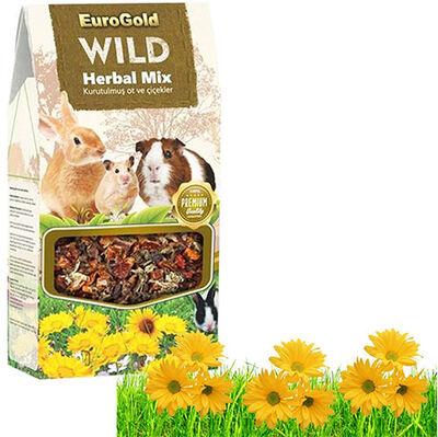 Euro Gold Herbal Mix Ot ve Çiçekli Kemirgen Ödülü 40 gr
