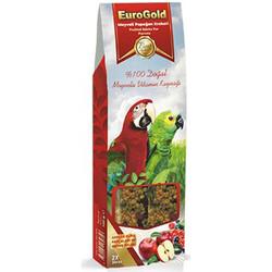 EuroGold - Euro Gold Meyveli Papağan Krakeri 100 Gr - (2li Paket)