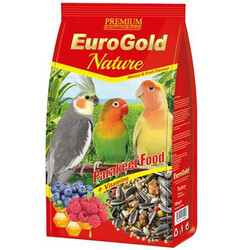 EuroGold - Euro Gold Nature Bal ve Meyveli Paraket Yemi 750 Gr