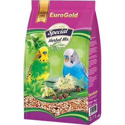 Euro Gold Special Herbal Mix Muhabbet Kuşu Yemi 500 Gr