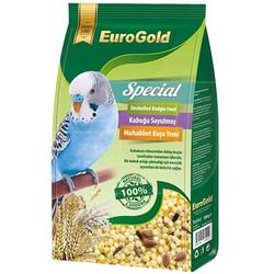 EuroGold - Euro Gold Special Kabuksuz Muhabbet Kuşu Yemi 500 Gr