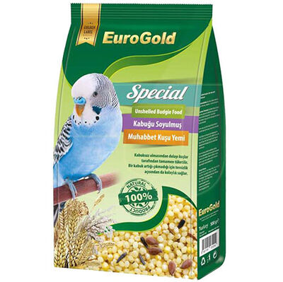 Euro Gold Special Kabuksuz Muhabbet Kuşu Yemi 500 Gr