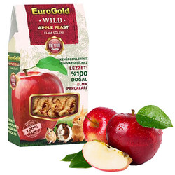 EuroGold - Euro Gold Wild Elma Şöleni Doğal Kemirgen Yemi Katkısı 70 Gr