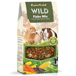 EuroGold - Euro Gold Wild Kemirgenler İçin Karışık Tahıl ve Sebze Flake Mix 120 Gr