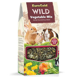 EuroGold - Euro Gold Wild Kemirgenler İçin Kurutulmuş Sebze Vegetable Mix 80 Gr