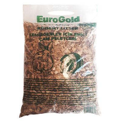 Euro Gold Wild Rodent Doğal Ağaç Kemirgen İçin Emici Çam Peleti Taban Altlığı 5 Lt