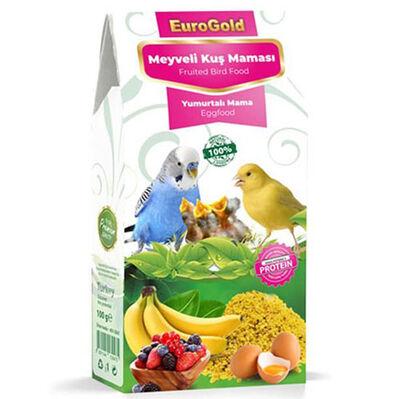 Euro Gold Yumurtalı Meyveli Kuş Maması 100 Gr
