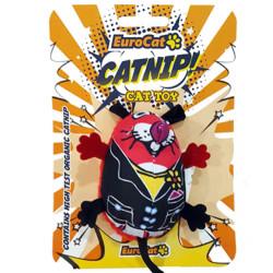 Euro Cat - EuroCat Tombik Fare Catnip (Kedi Otu) Kedi Oyuncağı 8 Cm