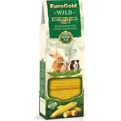 Eurogold Wild Kemirgenler İçin Doğal Mısır Koçanı Kemirgen Yemi ( 2'li Paket )