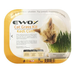 Ewox - Ewox Grass Kit Naturel Kedi Çimi