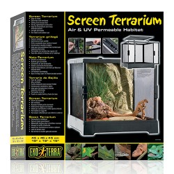 Exo Terra - Exo Terra PT2640 Sürgülü Teraryum 45x45x45 cm