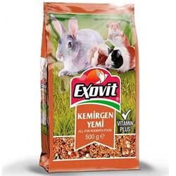 Exovit - Exovit Kemirgen ( Tavşan, Ginepig ve Hamster ) Yemi 500 Gr
