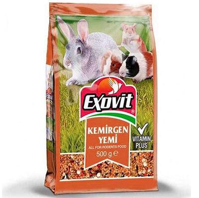 Exovit Kemirgen ( Tavşan, Ginepig ve Hamster ) Yemi 500 Gr
